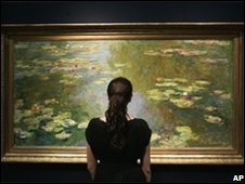 Monet Waterlily series