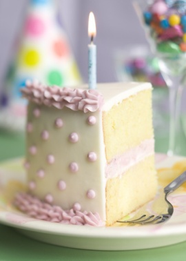 Birthday Cake Slice