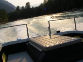 Jet Boat Rearview
