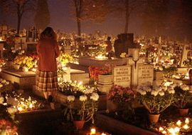 All Saints Day Poland