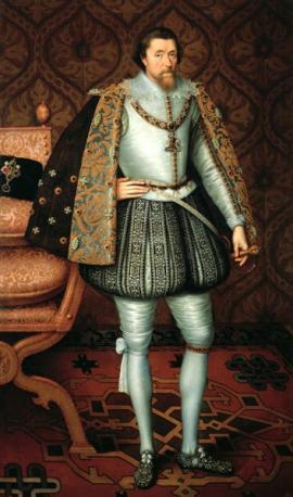 King James of England