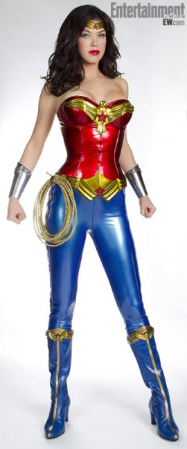 Adrianne Palicki as NBC TV's New Wonder Woman