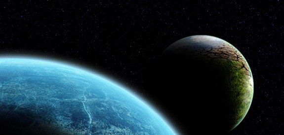 Artist's conception of the rogue planet Nibiru, or Planet X